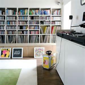 vinyl record storage shelves home organization shelving ideas