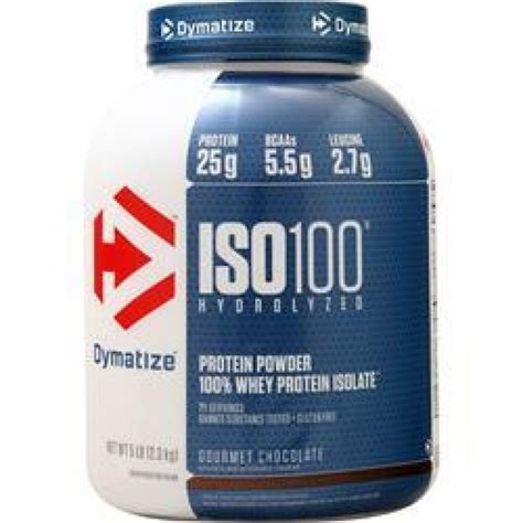 Whey Protein Isolate Dymatize dymatize iso 100 protein 5lb