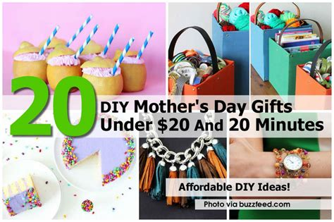 20 diy mother s day gifts under 20 and 20 minutes