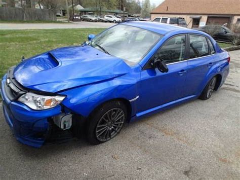 wrecked subaru sell used 2013 subaru wrx salvage track car race car