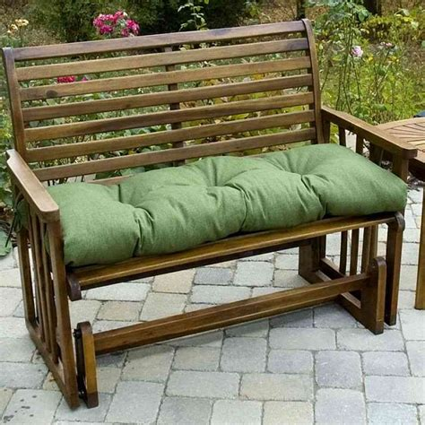 Furniture Patio Furniture Cushion Covers Vanillaskyus Patio Bench Cushions