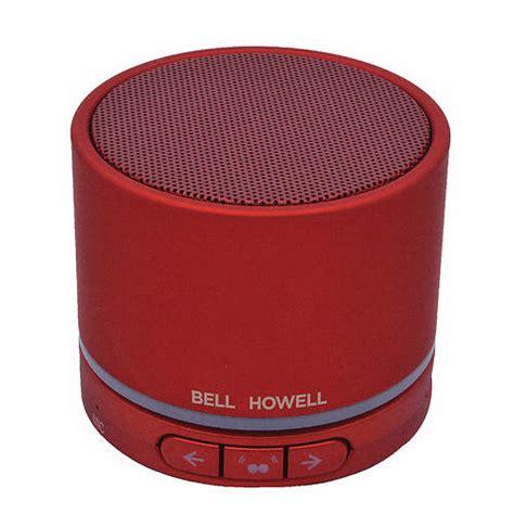 Bell Stereo Speakers bell howell bluetooth stereo link speaker stoneberry
