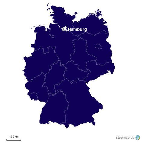 Deutsches Büro Grüne Karte Hamburg by Deutschlandkarte Hamburg Pseminar Landkarte F 252 R