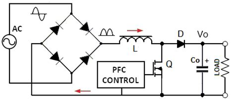 power factor correction of boost converter active power factor correction