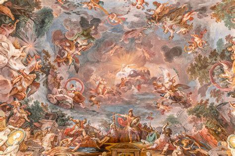 fresco baroque illusionistic ceiling painting taraba home review