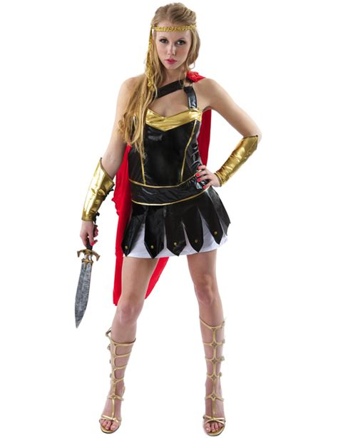 spartan warrior costume women ladies roman spartan gladiator warrior princess fancy