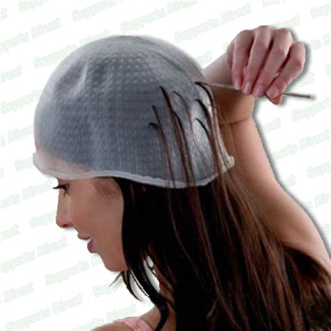 lowlighting cap professional reusable hair colouring highlighting cap