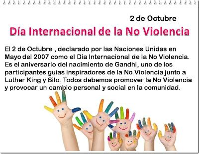 d 237 a internacional contra la violencia de g 233 nero 2015 este 2 de octubre d a internacional de la no violencia
