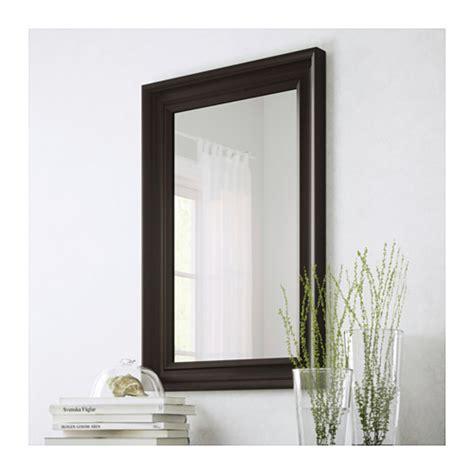Cermin Brown Mirror hemnes mirror black brown ikea