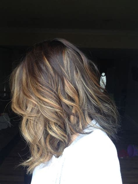 medium length hair with ombre highlights obsessed sombre ombr 233 highlights brown hair blonde