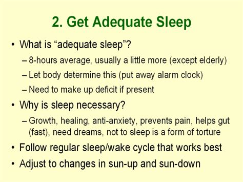 let s talk about sleep a guide to understanding and improving your slumber books 2 get adequate sleep