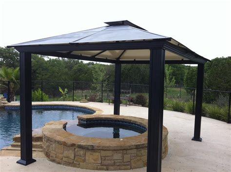 metal gazebo steel gazebo outdoor settings steel fabrication services