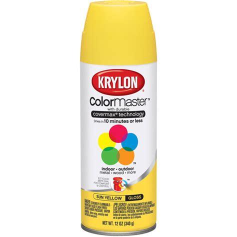 krylon colormaster sun yellow walmart