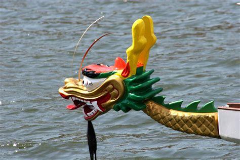 parts of a dragon boat dragon boat head tail set pan am dragon boat