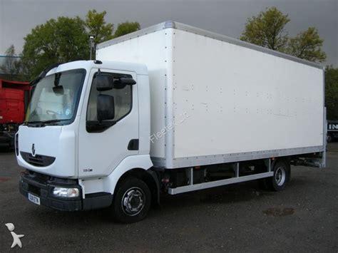 used renault box truck midlum 7 5t grp box 2011 eu11