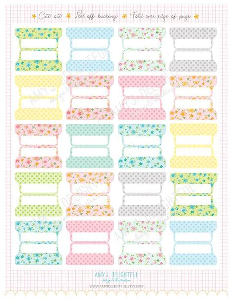 free printable planner tabs the 25 best planner tabs ideas on pinterest printable
