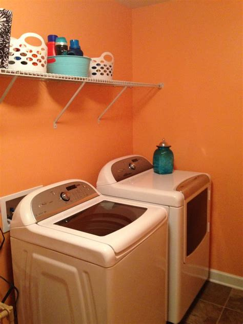 valspar creamsicle laundry room home laundry valspar and laundry rooms