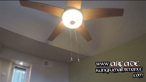 ceiling fan pull chain switches not working on pass