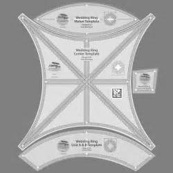 Wedding Ring Quilt Templates by Bali Wedding Discontinued
