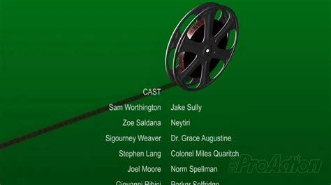 Adobe Premiere Credits Template advanced closing credits in adobe premiere pro
