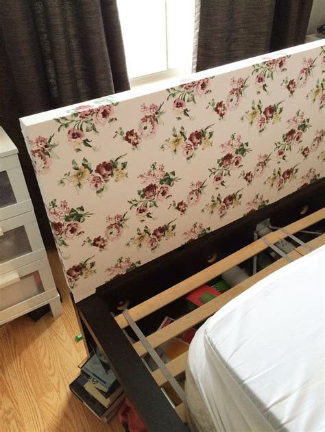 malm bed headboard customizing ikea s malm bed headboard diy pinterest