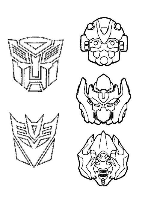 transformers logo coloring pages drawn bumblebee logo transformer pencil and in color