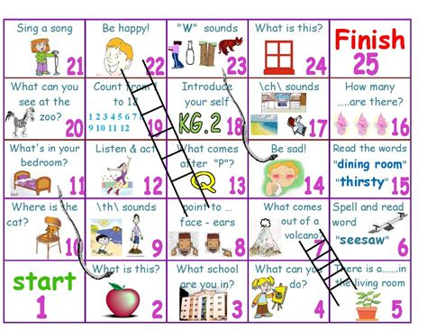 printable board games for esl board games my english classes