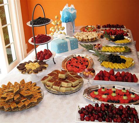 Brunch Finger Foods For Baby Shower by Luncheon Menu Ideas Bridal Shower Menu Ideas Finger