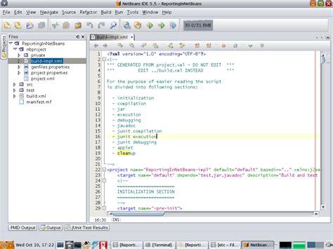 membuat xml file membuat report pada netbeans moklet best information