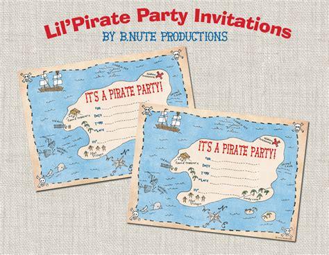 printable birthday invitations pirate free pirate birthday printables from b nute productions