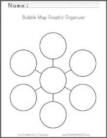 Blank Bubble Map by Bubble Map Free Printable Worksheet Student Handouts