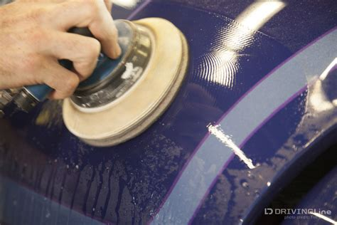 buffing light scratches out of a car tech buffing out paint scratches drivingline