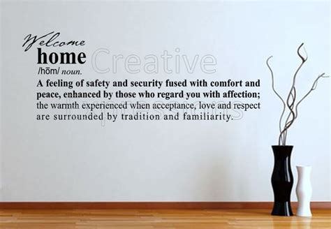home definition wall decal definition of home wall vinyl