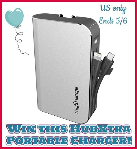 Charger Giveaway - mycharge hubxtra portable charger giveaway