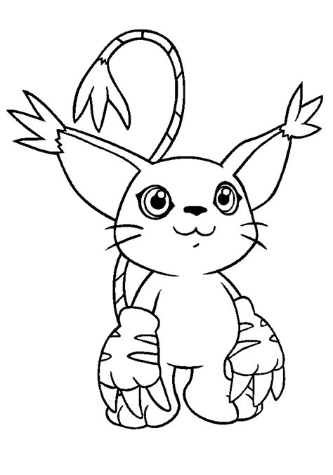 digimon color pages az coloring pages
