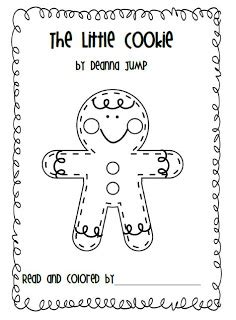 gingerbread man printable emergent reader mrs jump s class gingerbread fun and freebies
