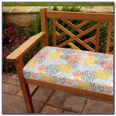 bench cushion 48 x 16 48 x 24 outdoor bench cushion bench home design ideas