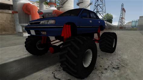 gta san andreas  subaru legacy monster truck mod gtainsidecom