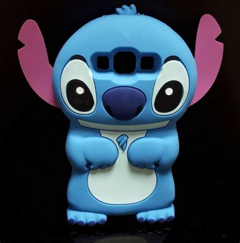Silicone Lilo Stitch Disney Stich Biru Samsung J7 Prime J5 Prime 3d stitch soft silicone back cover lilo stitch for samsung galaxy a5 a500 e5