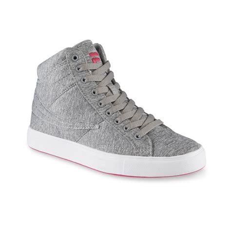 Fila Women's Smokescreen Gray High Top Sneaker
