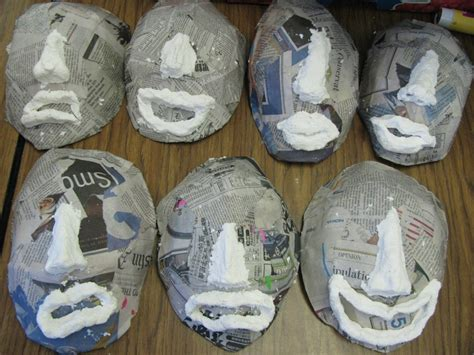 How To Make Paper Mache Pulp - 125 best images about carnival masks on tissue