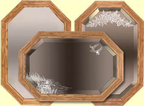 Handcrafted Wooden Mirrors - handcrafted decorative mirrors decorative wooden mirror