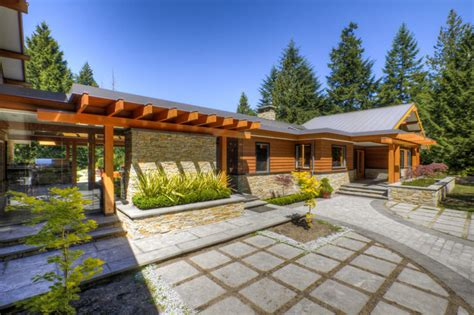 modern rancher west coast post and beam rancher contemporary exterior
