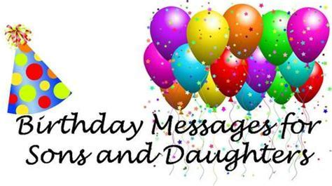 Birthday Messages to Your Kid: Son or Daughter Birthday