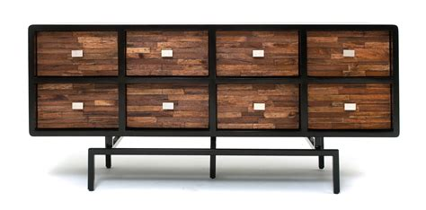 soft modern furniture sustainable sideboard reclaimed wood