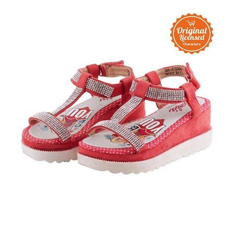 Sepatu Anak Perempuan Gratis Baterai Cadangan jual wedges with sepatu sandal anak perempuan coral harga kualitas