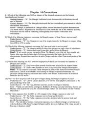 Chapter 22 Section 1 Guided Reading Moving Toward Conflict Answers by Chapter 14 Reading Guide Name