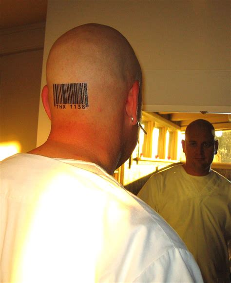 awesome head barcode tattoo meaning tattoomagz