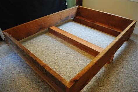 diy bed frame diy project 2 redwood bed frame transmigration