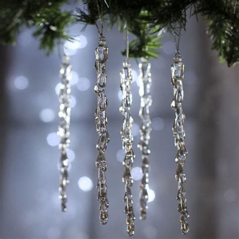 ideas about plastic christmas icicle ornaments easy diy
